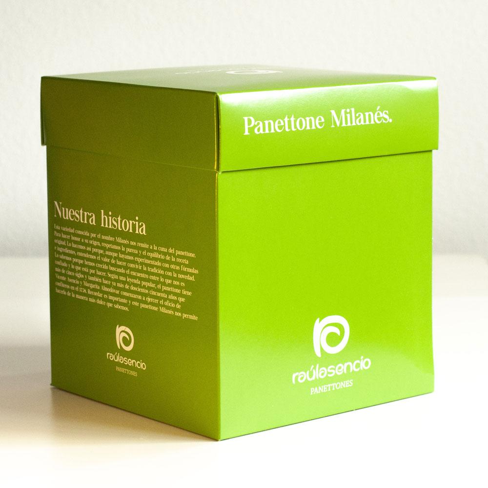 Caja panettone milanés 2 - Raúl Asencio Pastelerías