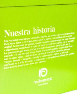 Caja panettone milanés - Raúl Asencio Pastelerías