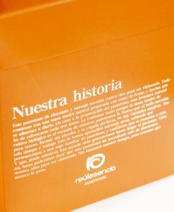 Panettone de chocolate y naranja caja - Raúl Asencio Pastelerías