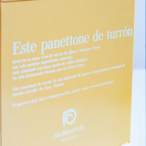 panettone-turron-caja-2-Raúl Asencio Pastelerías