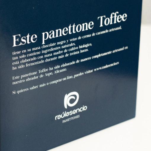 Caja panettone toffee 2 - Raúl Asencio Pastelerías