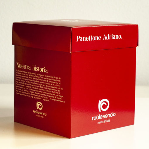 Panettone adriano caja 2-Raúl Asencio Pastelerías