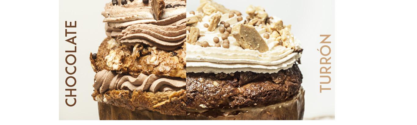 panettone chocolate o turron helado Raúl Asencio