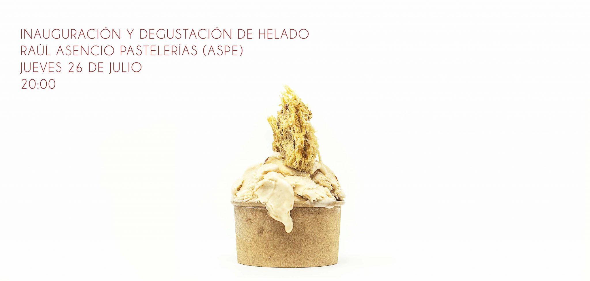 helado panettone Raúl Asencio Pastelerías