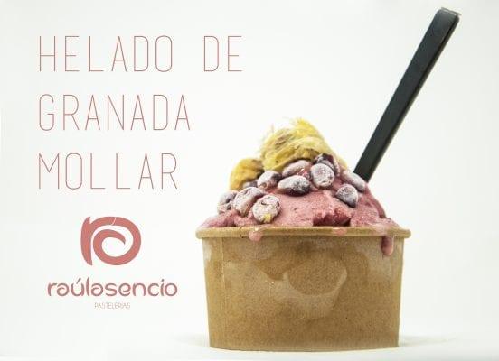helado artesanal Aspe Raúl Asencio Pastelerías