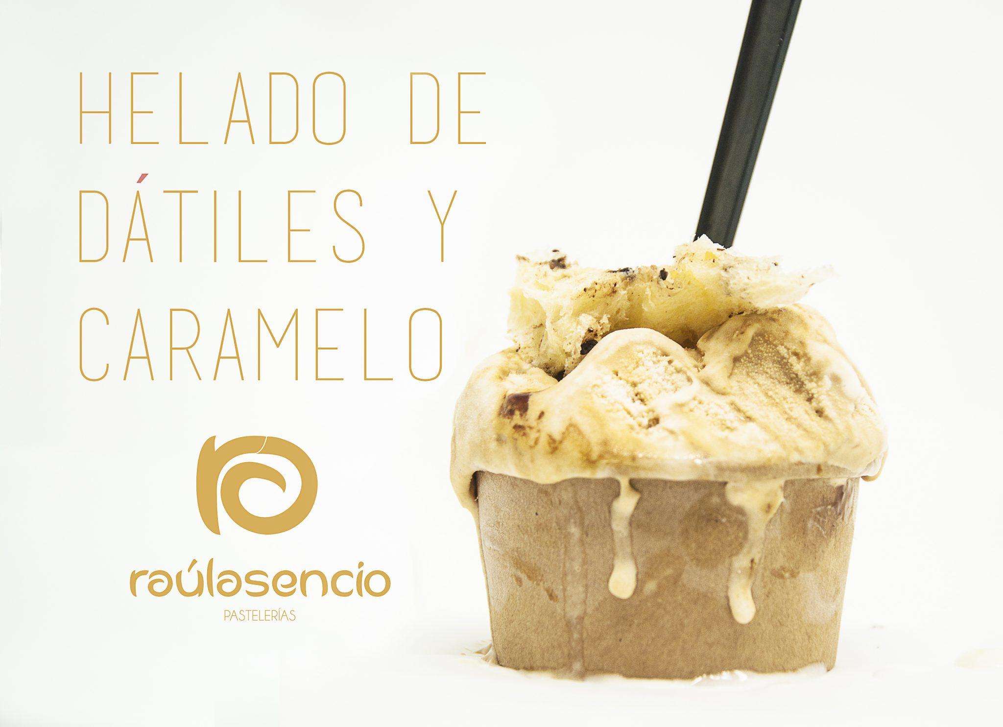 helado artesanal heladería Raúl Asencio Pastelerías
