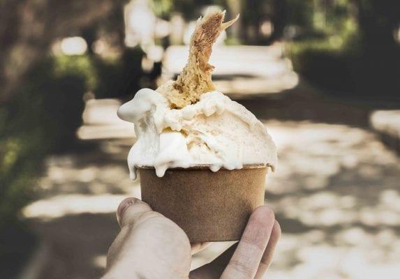 helado artesanal leche merengada