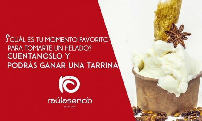 helado artesanal Raúl Asencio Pastelerías