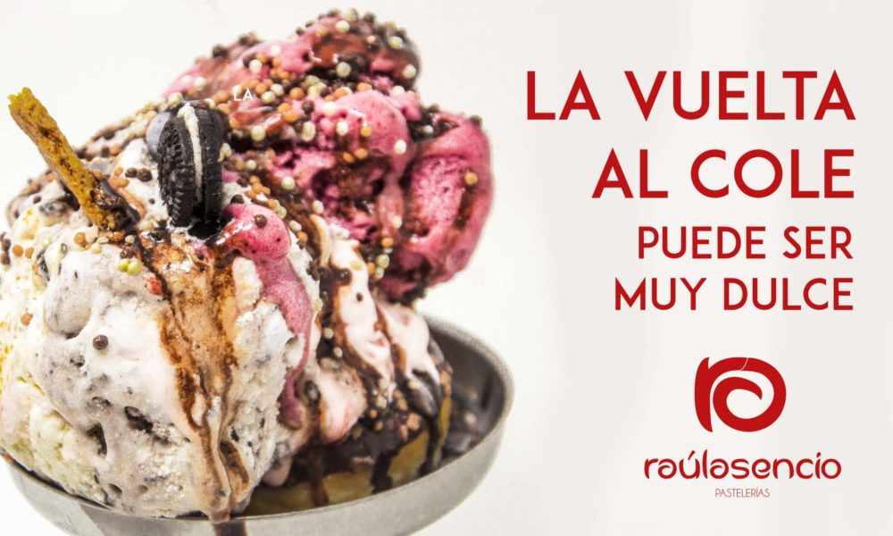 vuelta al cole helado artesanal Raúl Asencio Pastelerías