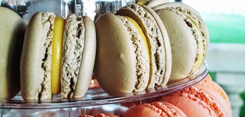 helado artesanal de macaron Raúl Asencio Pastelerías