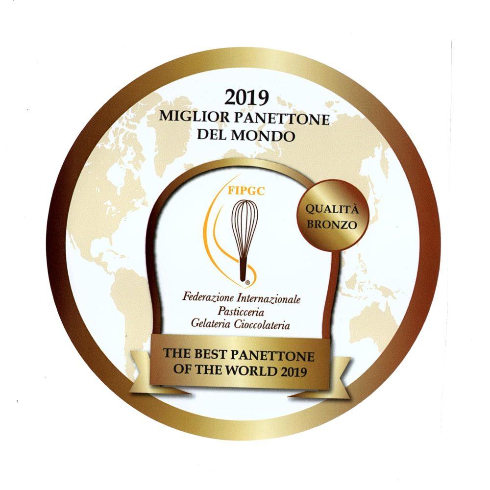 Medalla de bronce al mejor panettone del mundo Raúl Asencio Pastelerías