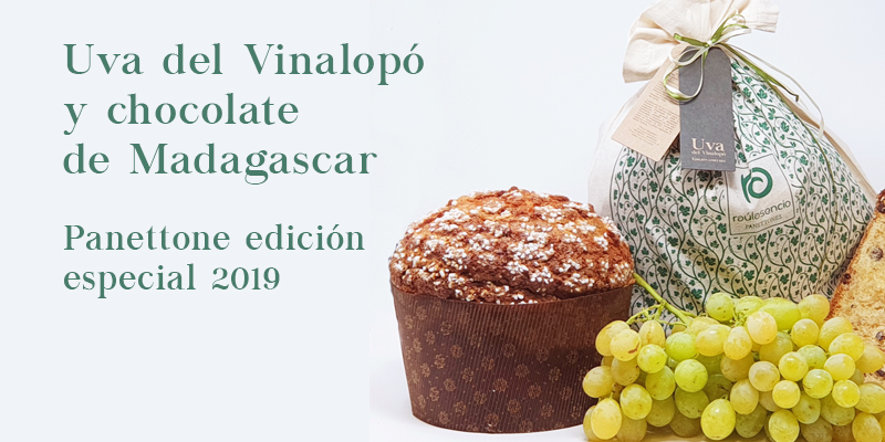 Panettone edición especial 2019 Raúl Asencio Pastelerías