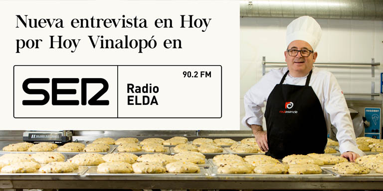 Entrevista Hoy por Hoy Radio Elda Raúl Asencio Pastelerías