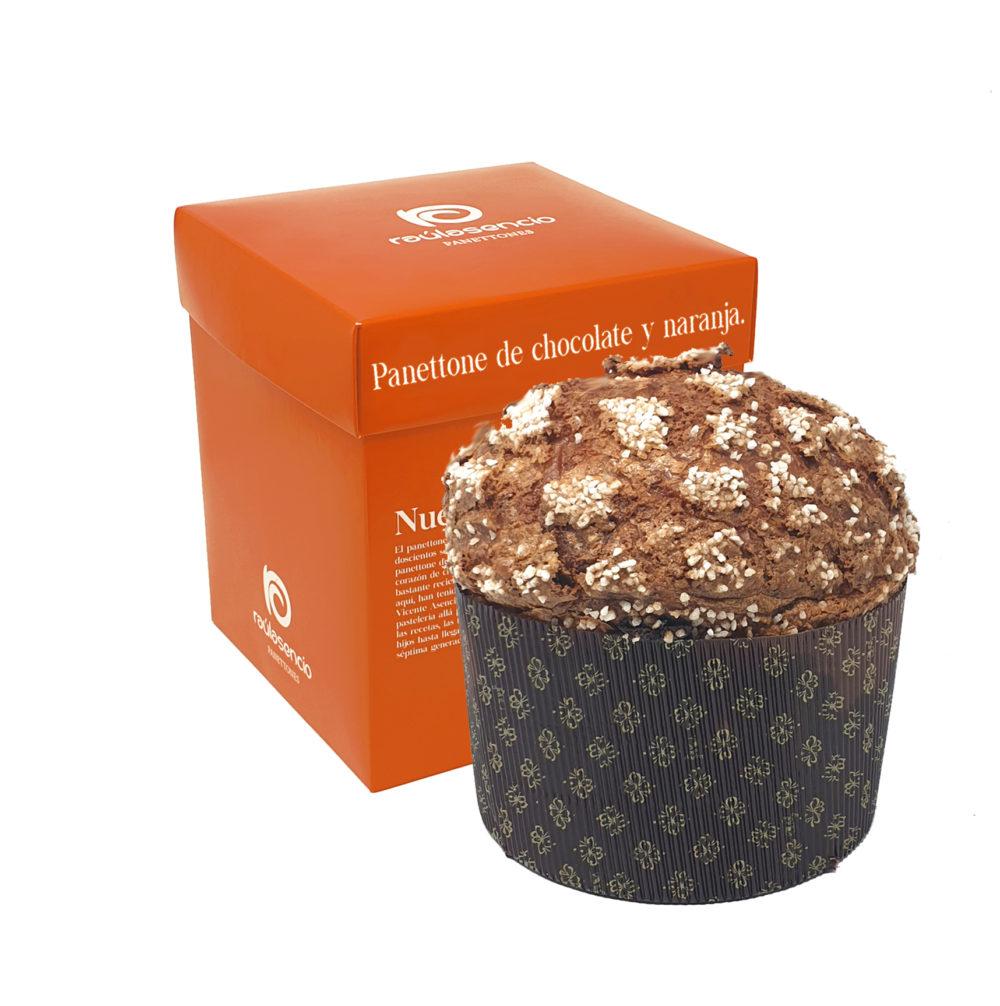 Panettone de chocolate y naranja Raúl Asencio Pastelerías