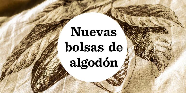 Nuevas bolsas de algodón Raúl Asencio Pastelerías