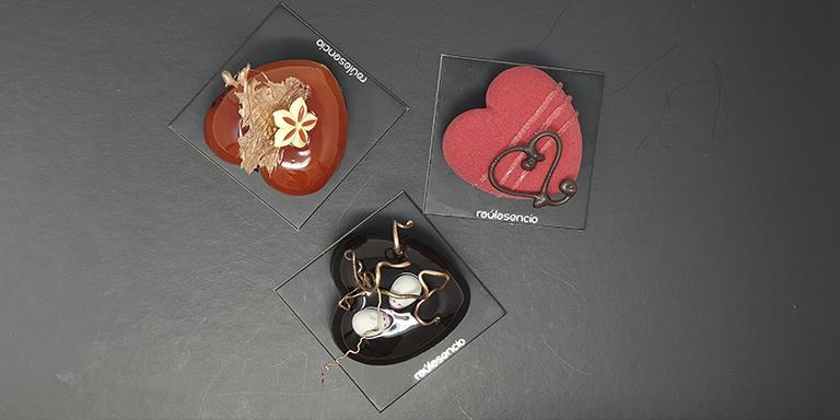 Corazones de San Valentín Raúl Asencio Pastelerías
