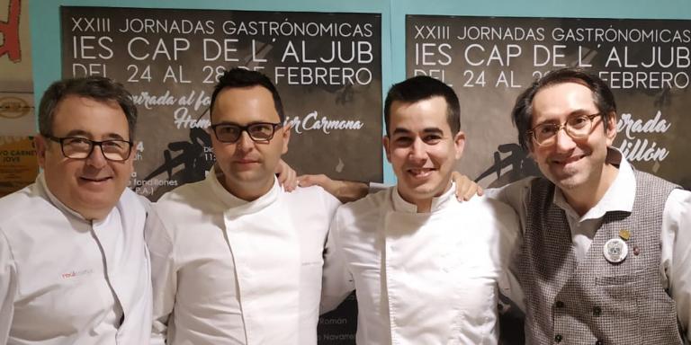 Raúl Asencio, Nanín Pérez, Rubén Álvarez y Juan Tomás