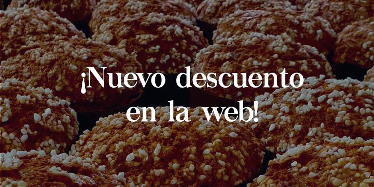 descuento web - Raúl Asencio Pastelerías