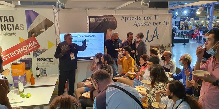 Raúl Asencio en Alicante Gastronómica 2021