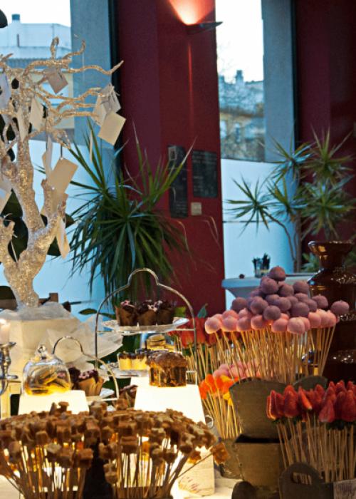 Fuente de chocolate en Caudete, Albacete, con Catering Berna